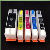 Комплект перезаправляемых картриджей OEM Epson (T2621 T2631-T2634) XP-600/XP-820/XP-520