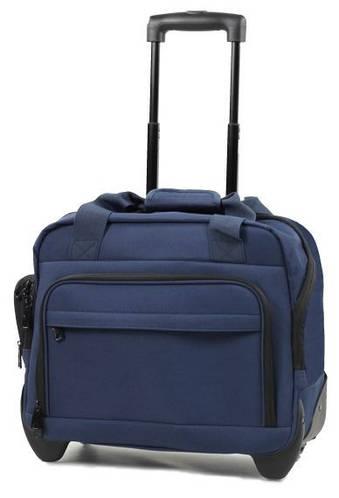 Современная сумка дорожная на 2-колесах 21 л. Members Essential On-Board Laptop 21 Navy, 922526 синий