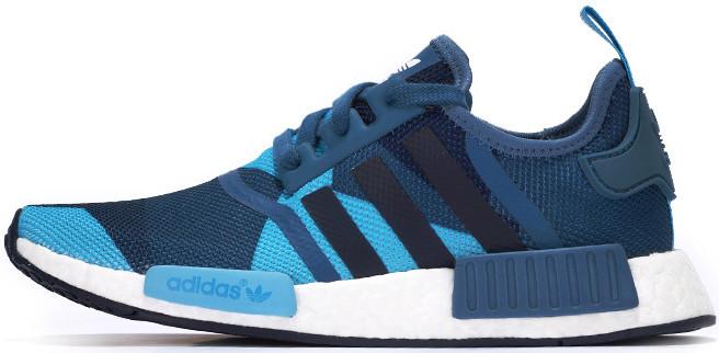 9e97e8a7d61a8 Женские кроссовки Adidas NMD Geometric Camo Blue - Интернет-магазин обуви и  одежды в Киеве
