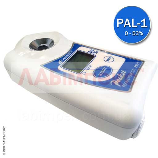 Atago PAL-1 рефрактометр карманный цифровой (Brix, T)