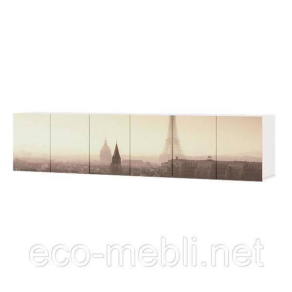 Шафа навісна №1/2/3 600 * 300 * 414 ПАРИЖ  Luxe Studio