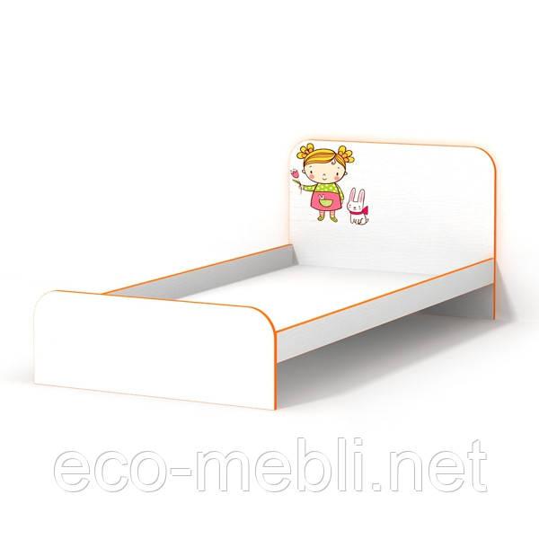 Ліжко 972х1940х900 МАНДАРИНКА  Luxe Studio