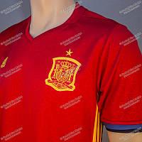 Футбольная форма сборной ИСПАНИИ Euro 2016 домашняя