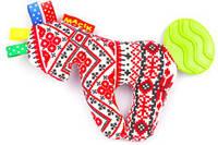 Погремушка Этно-Эко Лошадка с прорезывателем (Vladi Toys)