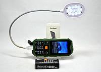 Мобильный телефон Hope S16 Land Rover 2 SIM противоударный, батарея 10000 mAh зеленый