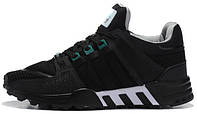 Женские кроссовки Adidas EQT Running Support 93 Primeknit Dark Grey, адидас еквипмент