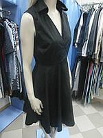 Платье черное с подъюбником Motivi