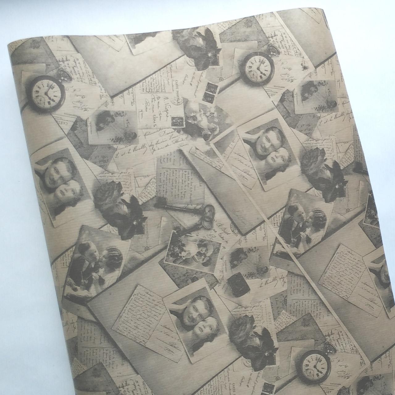 Бумага флористическая Фото, часы