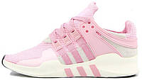 Женские кроссовки Adidas EQT Running Support 93 Primeknit Barbie Pink, адидас еквипмент