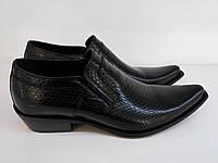 Туфли казаки анаконда Etor