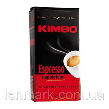Кофе молотый Kimbo Espresso Napoletano,250 г