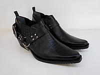 Казаки Etor 26-8041-008-2 41 черные, фото 1