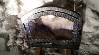 Индивидуальное производство каминных дверей со стеклокерамикой