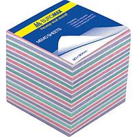 Блок бумаги для записей BUROMAX «ЗЕБРА» 90х90х60