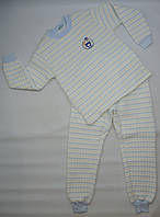 Качественная зимняя пижама 4-8 р