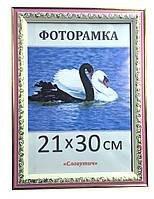 Фоторамка пластиковая 21х30, рамка для фото 3020-69