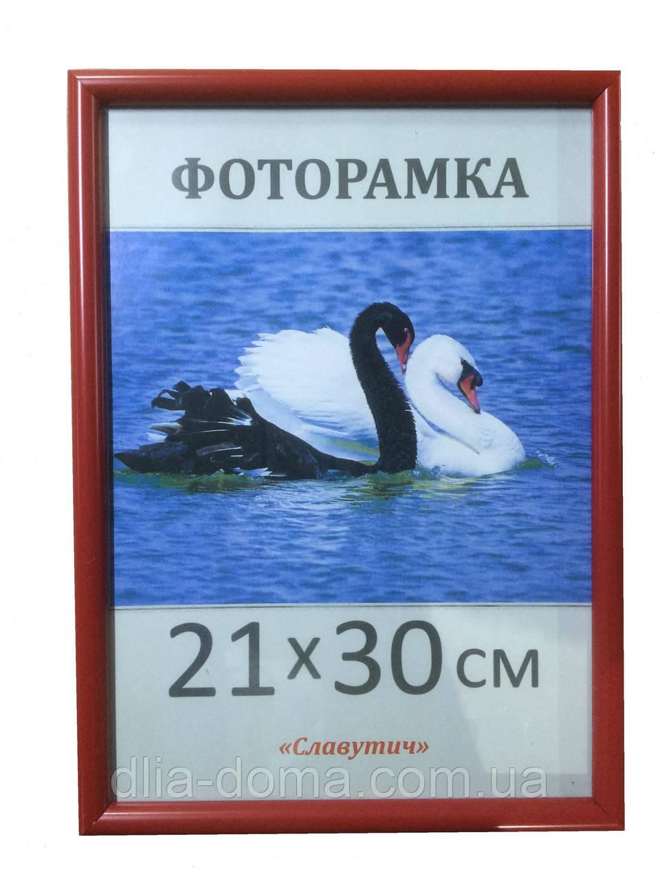 Фоторамка пластиковая 21х30, рамка для фото 1417-58
