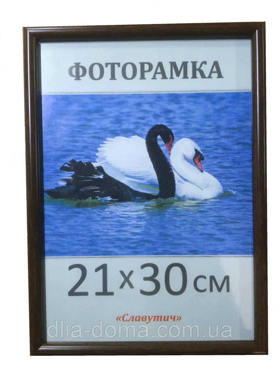Фоторамка пластиковая 21х30, рамка для фото 1417-33