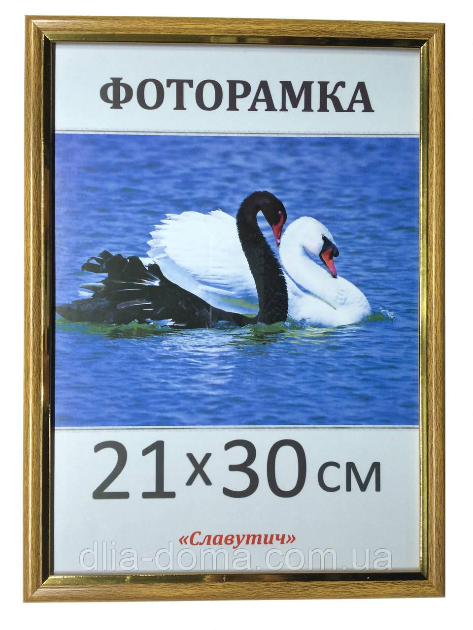 Фоторамка пластиковая 21х30, рамка для фото 1512-314