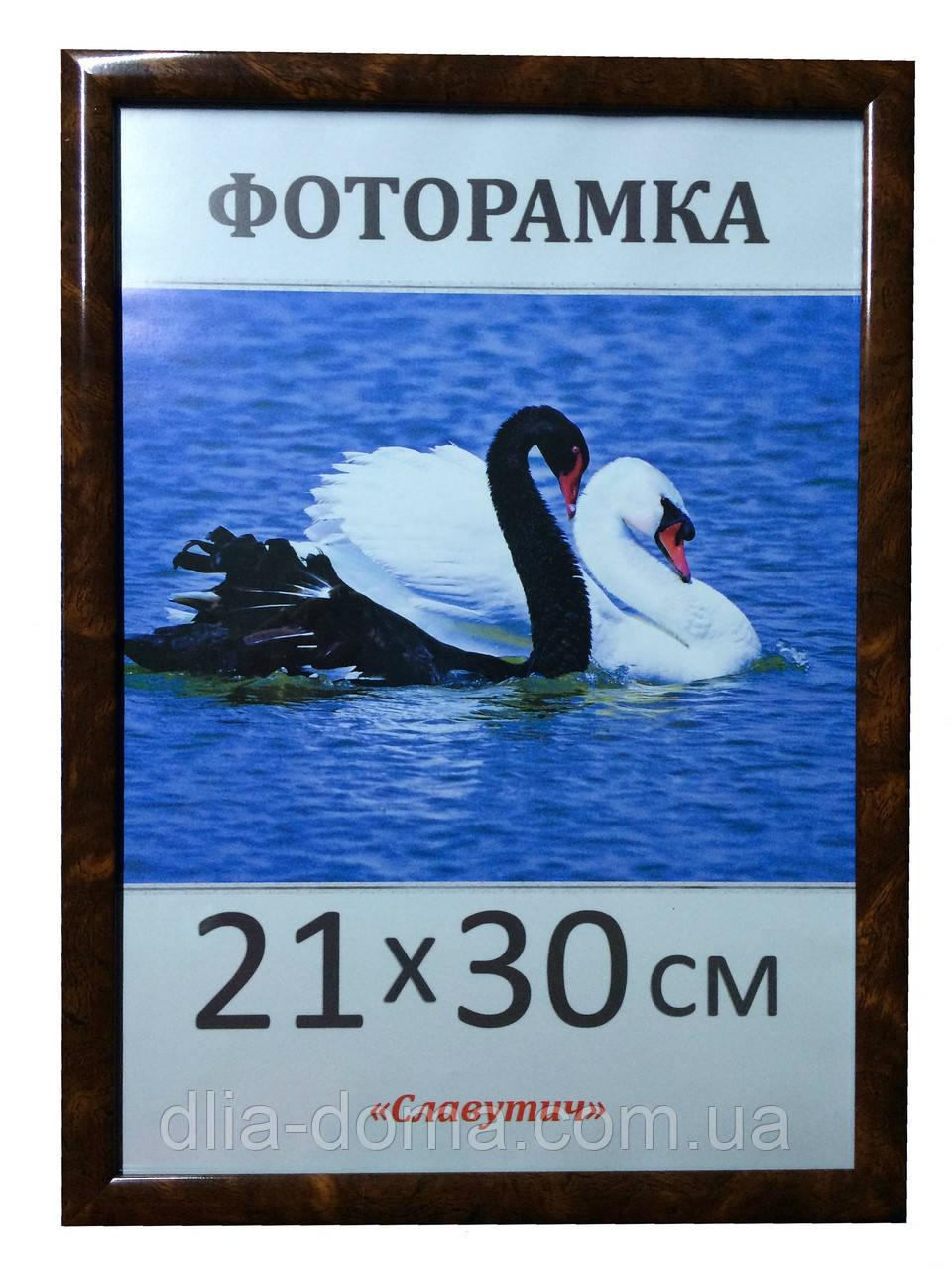 Фоторамка пластиковая 21х30, рамка для фото 1411-6