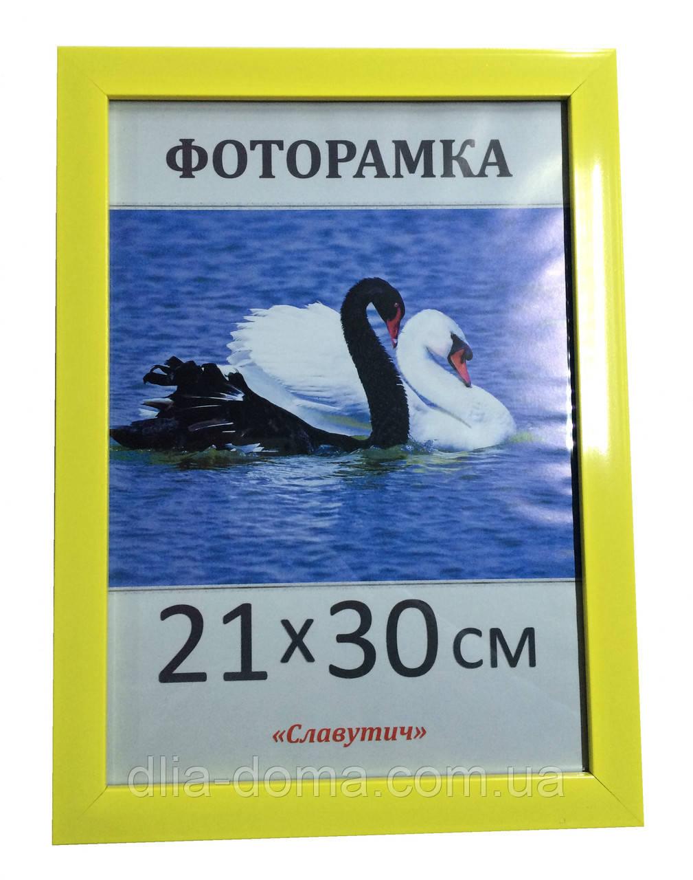 Фоторамка пластиковая 21х30, рамка для фото 2216-60