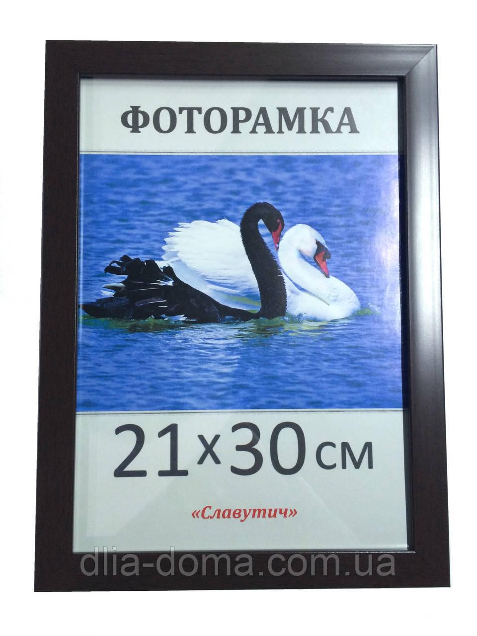 Фоторамка пластиковая 21х30, рамка для фото 2216-85