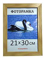 Фоторамка пластиковая 21х30, рамка для фото 2712-93