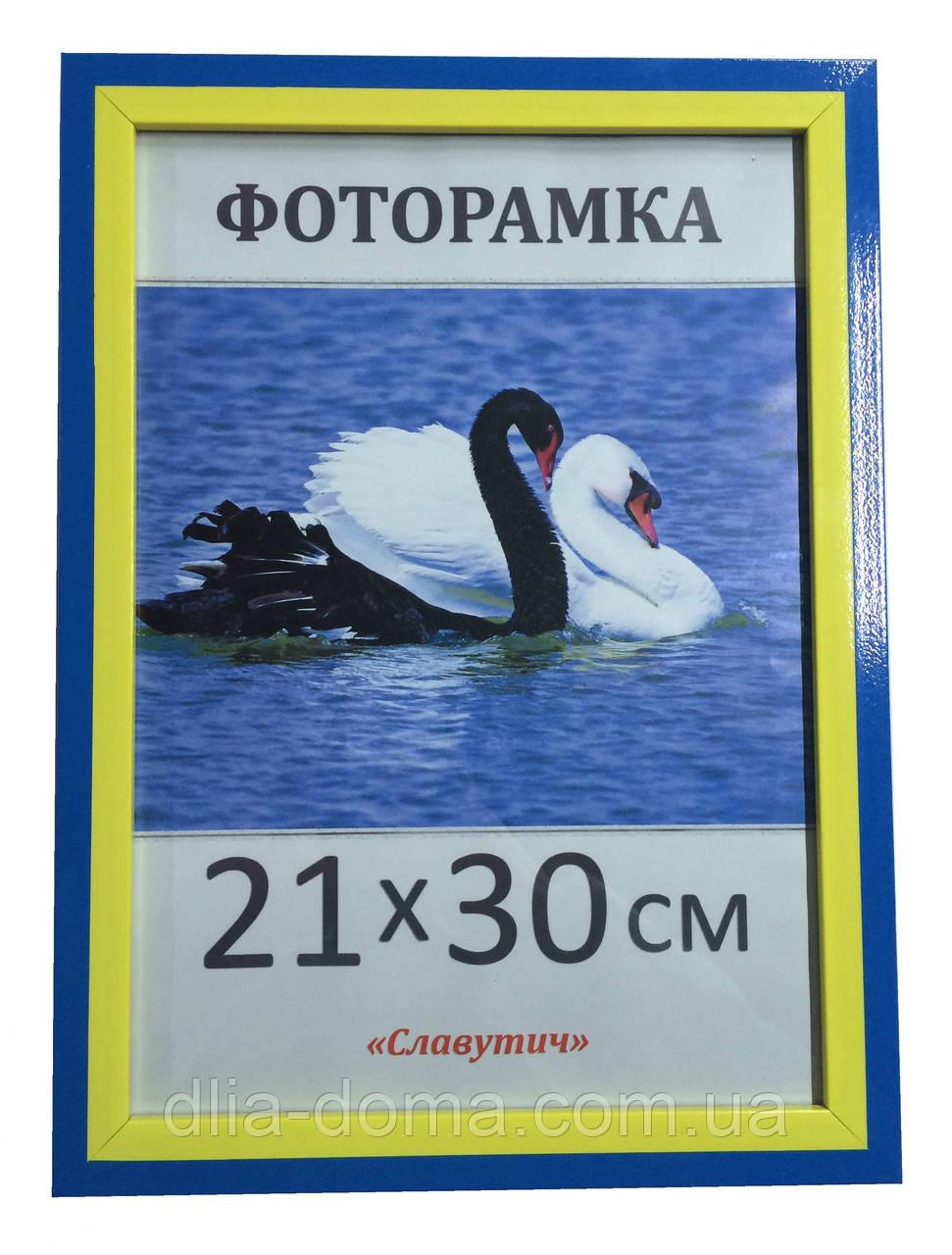Фоторамка пластиковая 21х30, рамка для фото 2216-100