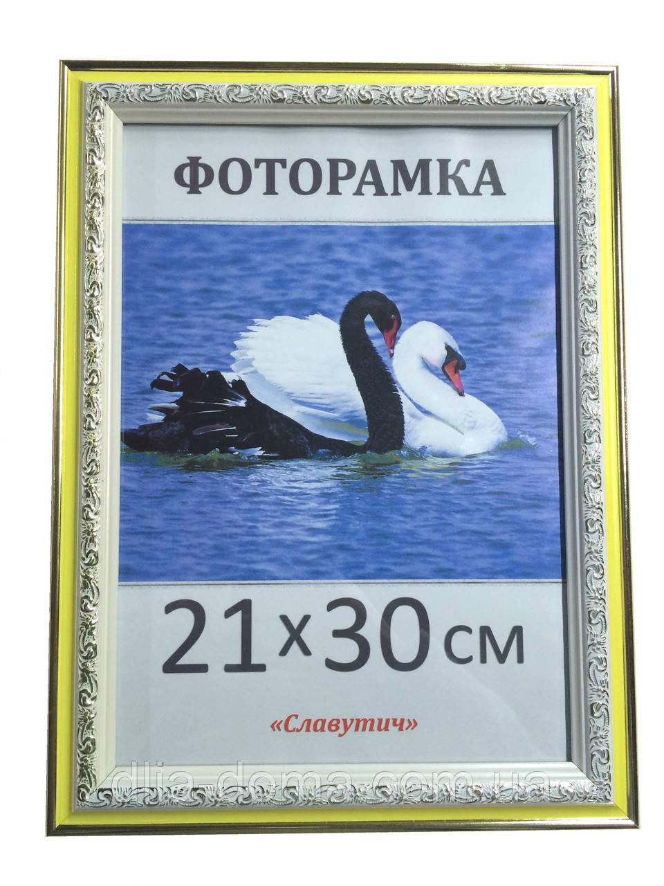 Фоторамка пластиковая 21х30, рамка для фото 3020-60