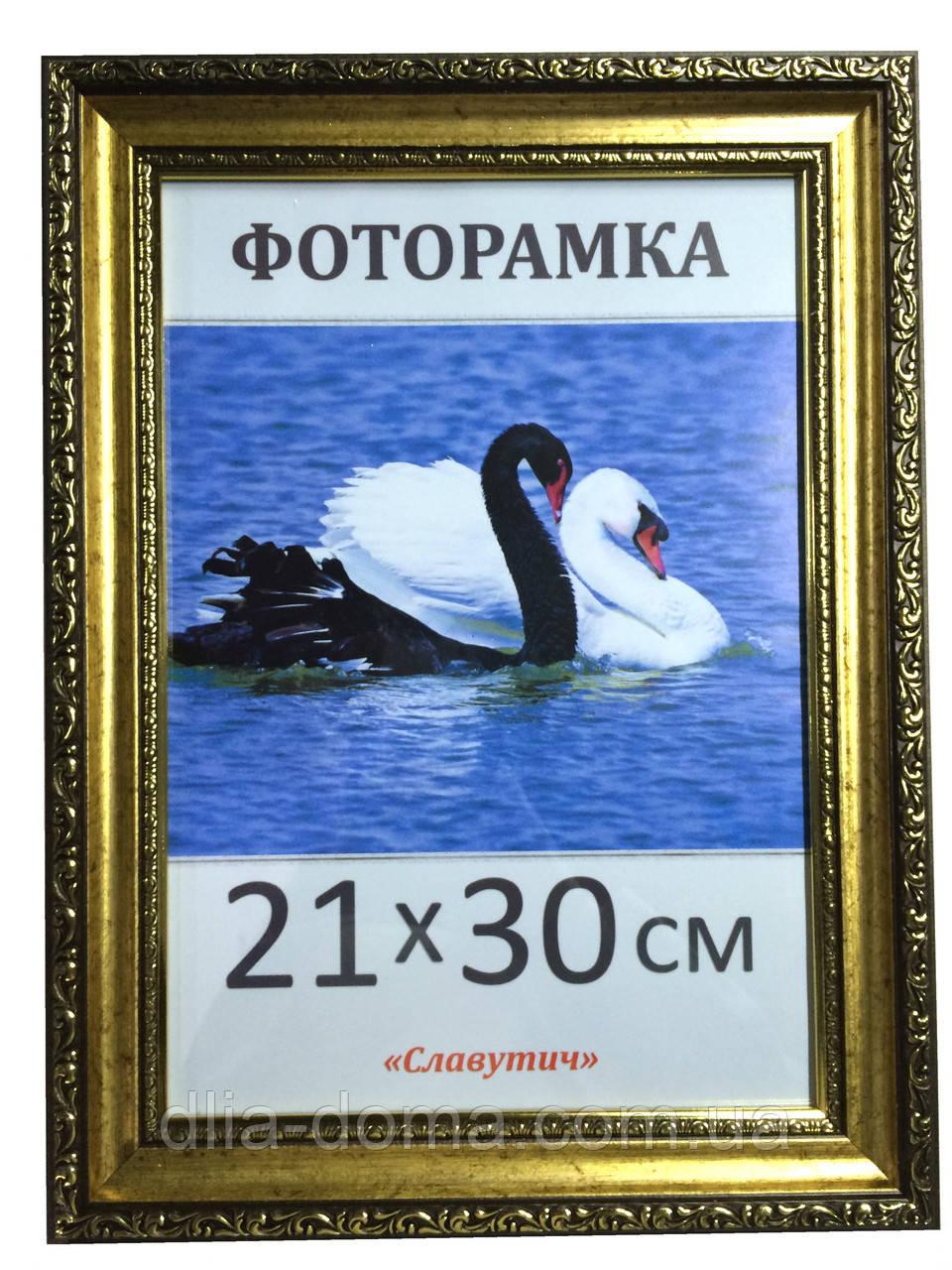 Фоторамка пластиковая 21х30, рамка для фото 3422-3