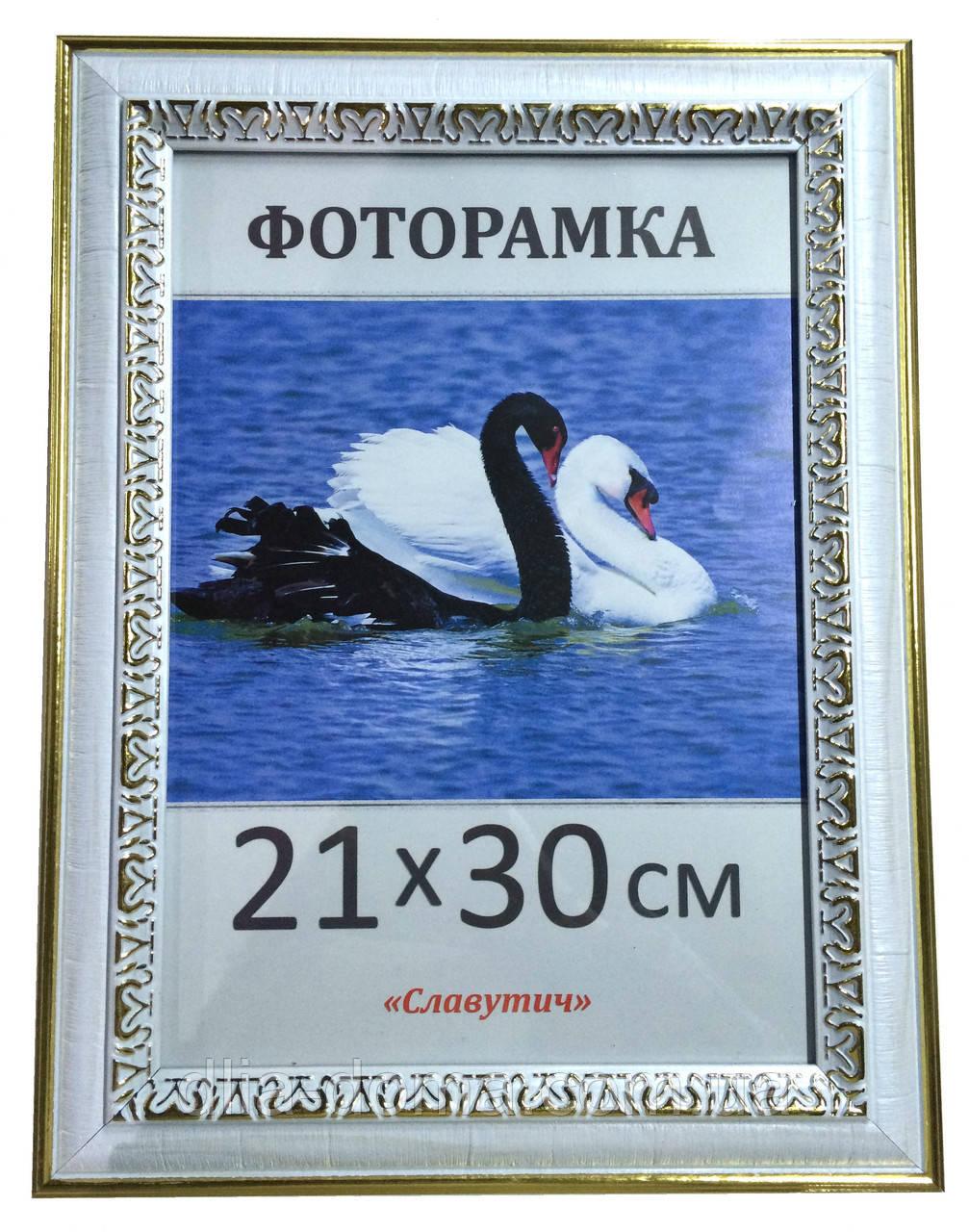 Фоторамка пластиковая 21х30, рамка для фото 4022-54