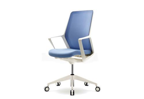 Кресло компьютерное белое FLO white - ЕНРАН-ДНЕПР в Днепре