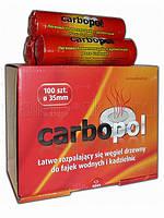 """Легковоспламеняющийся древесный уголь """"Carbopol"""" (35mm)"""