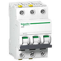 Автоматический выключатель Schneider Electric серия Acti9 IK60N 3Р 63А