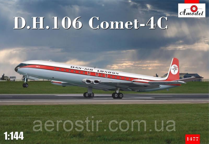 Пассажирский самолет D.H.106 Comet-4C 1\144 Amodel 1477