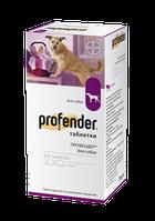 Profender (Профендер) для собак, антигельминтик широкого спектра для собак 1табл