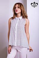 """Рубашка """"Нэнси"""" (белый+черный), фото 1"""