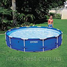 Каркасный бассейн Intex 28202, (305 x 76 см) (Картриджный фильтр-насос 1 250 л/ч), фото 3