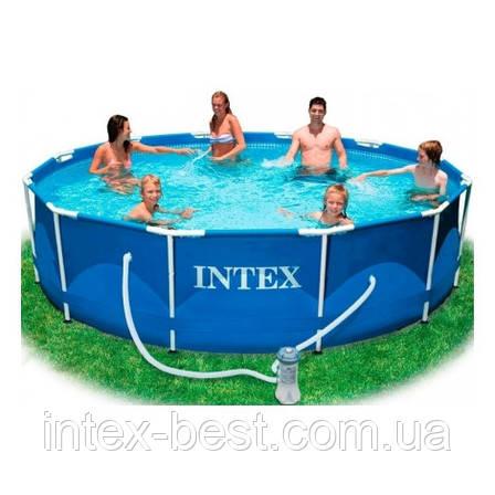 Каркасный бассейн Intex 28218 (54424) (366х99 см.), фото 2