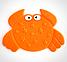 """Мини коврики для ванной """"Животные"""" AquaBaby, фото 7"""