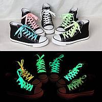 Люминесцентные (светящиеся) шнурки в темноте - 2 шт.