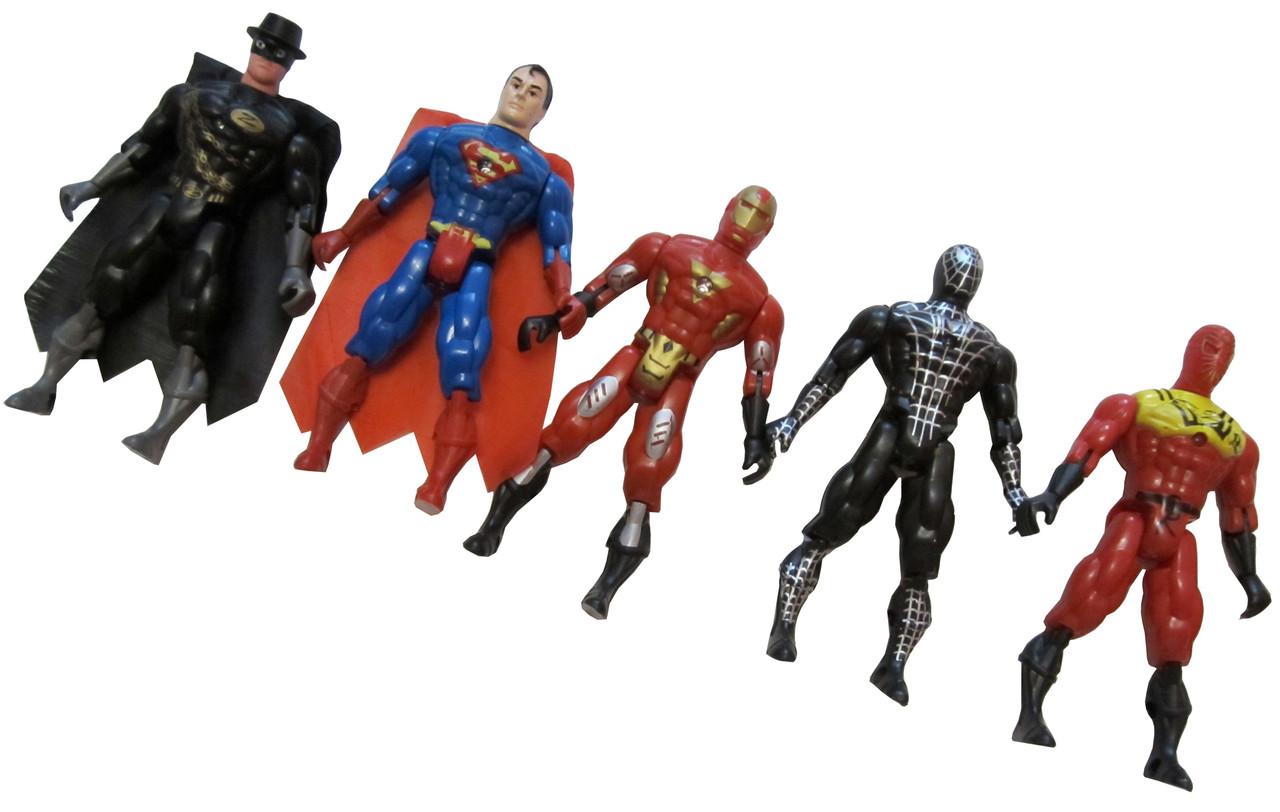 """Игрушка """"Super Hero"""" (5шт/набор)"""