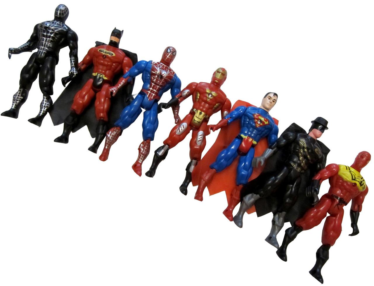 """Игрушка """"Super Hero"""" (7шт/набор)"""
