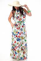 Женское платье в больших размерах к-202255