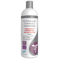 Veterinary Formula АНТИПАРАЗИТАРНЫЙ и АНТИСЕБОРЕЙНЫЙ шампунь для собак и котов 473мл