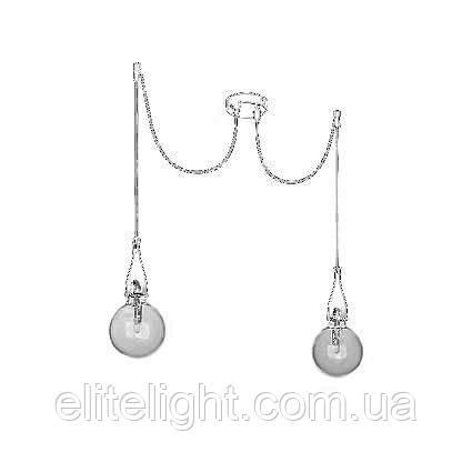 Подвесной светильник Ideal Lux Minimal SP2 Bianco Opaco 112718