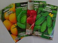 Семена овощей в евро-пакетах 80*150 мм.