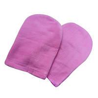 Варежки флис для парафинотерапии (1 пара) Цвет Розовый