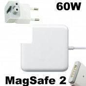 Блок питания Magsafe 2 для Apple MacBook Pro: класс А, 16,5V, 60W, 3,65A, разъем на магните, белый