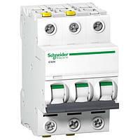 Автоматический выключатель Schneider Electric серия Acti9 iC60N 3Р 20А